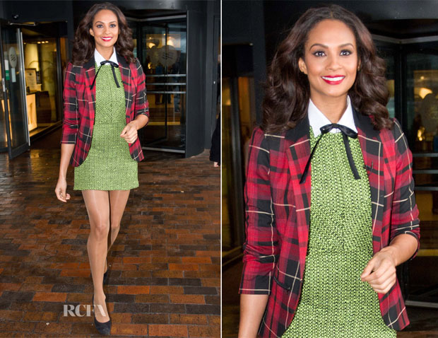 Alesha Dixon In Topshop - 'Britain's Got Talent' Glasgow Auditions