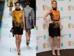 Alice Eve In Fendi - EE British Academy Film Awards Nominations Announcement