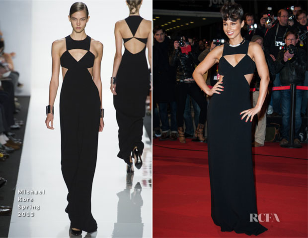 Alicia Keys In Michael Kors - 2013 NRJ Music Awards
