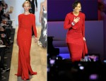 Alicia Keys In Michael Kors -  Commander-In-Chief's Inaugural Ball