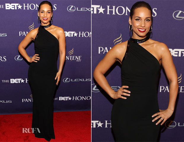 Alicia Keys in CD Greene - BET Honors 2013