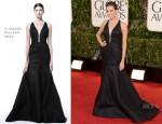 Allison Williams In J. Mendel - 2013 Golden Globe Awards