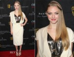 Amanda Seyfried In Vionnet - 2013 BAFTA Los Angeles Awards Season Tea Party
