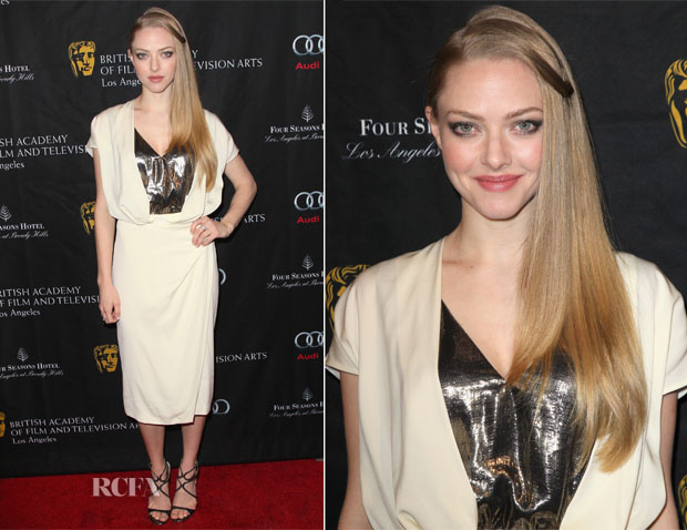 Amanda Seyfreid In Vionnet - 2013 BAFTA Los Angeles Awards Season Tea Party