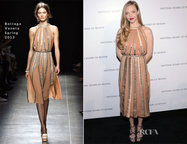 Amanda Seyfried In Bottega Veneta - 2013 National Board Of Review Awards