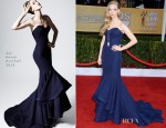 Amanda Seyfried In Zac Posen - 2013 SAG Awards