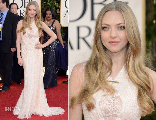 Amanda Seyfried in Givenchy - 2013 Golden Globe Awards