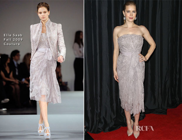 Amy Adams In Elie Saab Couture - 38th Annual Los Angeles Film Critics Association Awards