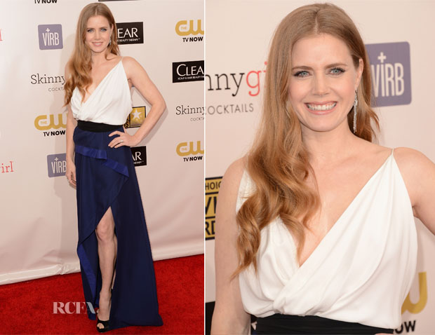 Amy Adams In Vionnet - 2013 Critics' Choice Movie Awards