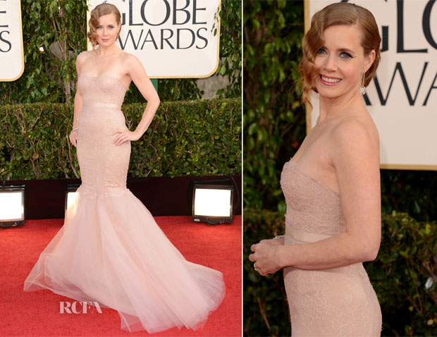 Amy Adams Marchesa Golden Globe Awards