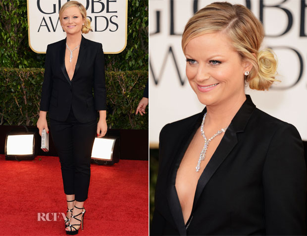 Amy Poehler In Stella McCartney - 2013 Golden Globe Awards