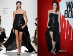 Analeigh Tipton In Barbara Bui - 'Warm Bodies' LA Premiere