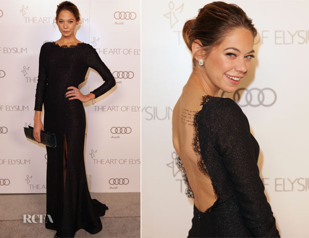 Analeigh Tipton in Rafael Cennamo - Art of Elysium Heaven Gala