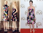 Anne Hathaway In Erdem - 2013 Producers Guild Awards