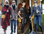 Anne Hathaway Loves Her Stella McCartney 'Grace' Cross-Body Bag