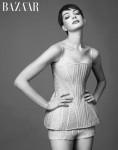 Anne Hathaway in Alexander McQueen