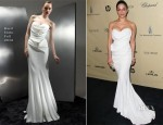 Archie Panjabi In Basil Soda - The Weinstein Company's 2013 Golden Globe Awards After Party