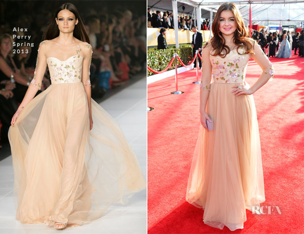 Ariel Winter In Alex Perry - 2013 SAG Awards