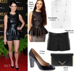 Steal Her Style: Ashley Greene's All Leather Look