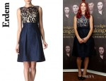 Ashley Greene's Erdem Vivienne Dress