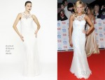 Ashley Roberts In Rachel Gilbert - 2013 National Television Awards