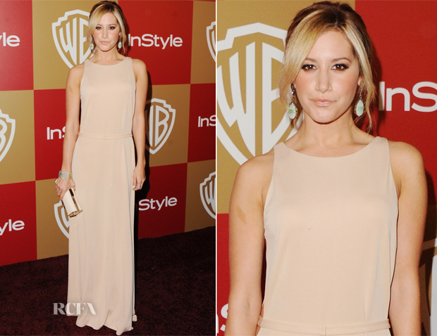 Ashley Tisdale In Issa - Warner Bros and InStyle Golden Globe Awards After Party