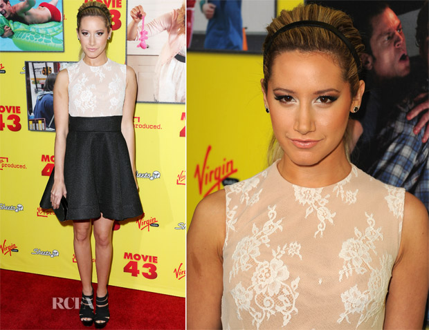 Ashley Tisdale In Philip Armstrong - 'Movie 43' LA Premiere