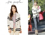 Ashley Tisdale's Free People Earned Stripes Jacket