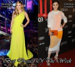 Best Dressed Of The Week - Fergie In Oliver Tolentino & Song Jia In Stella McCartney
