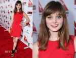 Bella Heathcote In Moschino - Qantas Spirit of Australia Party