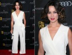 Bérénice Marlohe In Escada - BAFTA Los Angeles 2013 Awards Season Tea Party