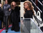 Beyonce Knowles In Emilio Pucci -  Ceremonial Inauguration For U.S. President Barack Obama