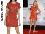 Blake Lively's Isabel Marant Studded Leather Dress