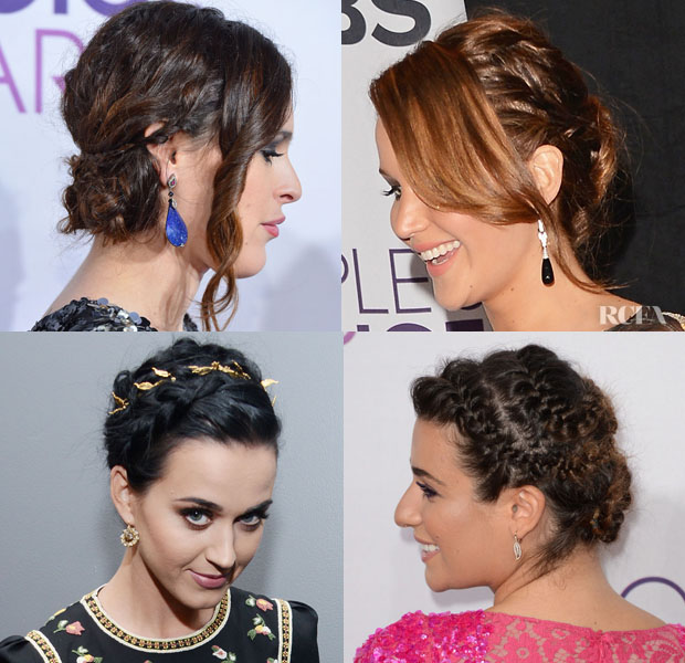 Braided Updos Trend People's Choice Awards