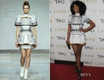 Brandy In Mary Katrantzou - New Year's Eve Party