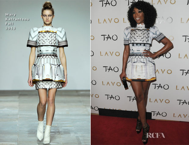 Brandy In Mary Katrantzou - Lavo New Year's Eve Party