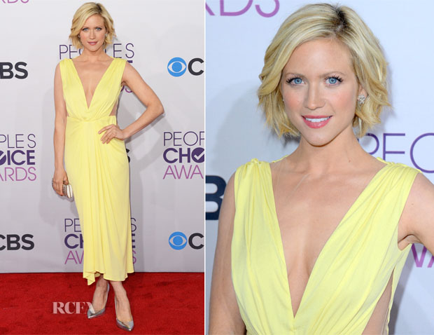 Brittany Snow In Maria Lucia Hohen - 2013 People's Choice Awards