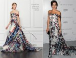 Camilla Belle In Carolina Herrera - 2013 Art of Elysium 'Heaven' Gala