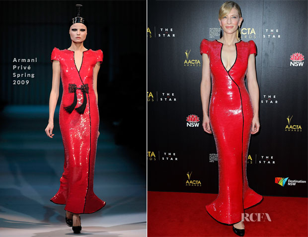 Cate Blanchett In Armani Privé - 2nd Annual AACTA Awards