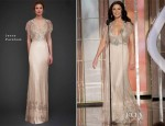 Catherine Zeta-Jones In Jenny Packham - 2013 Golden Globe Awards