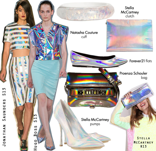 Celebs Love Hologram Accessories