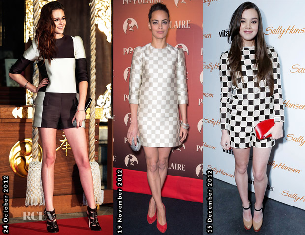 Celebs Love Louis Vuitton Check Print 1
