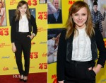 Chloe Moretz In Dolce & Gabbana - 'Movie 43' LA Premiere