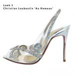 Look 1 - Christian Louboutin 'Au Hameau'
