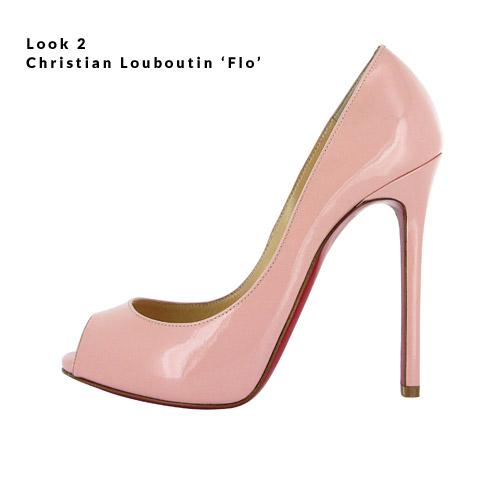 Look 2 - Christian Louboutin 'Flo'