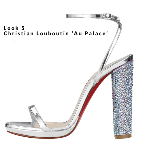 Look 5 - Christian Louboutin 'Au Palace'