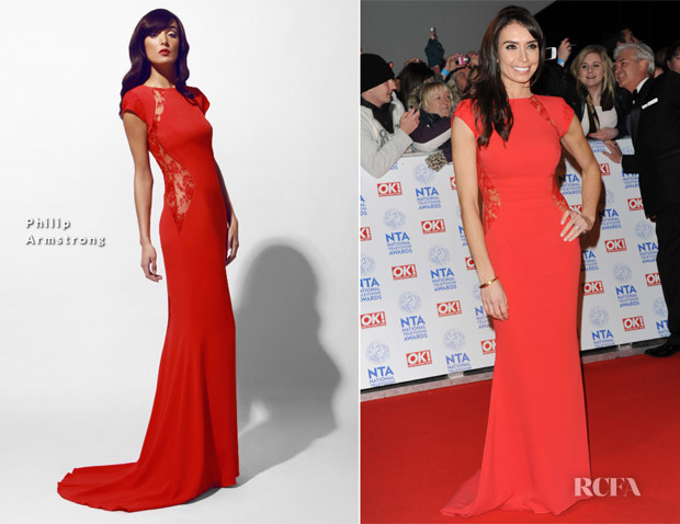 Christine Bleakley In Philip Armstrong - 2013 National Television Awards