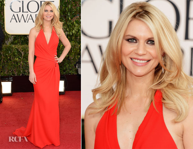 Claire Danes In Atelier Versace - 2013 Golden Globe Awards