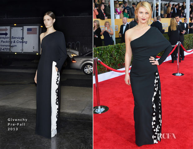 Claire Danes In Givenchy - 2013 SAG Awards