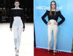 Coco Rocha In Mugler - 2013 Winter TCA Tour